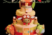 diaper cakes / by Jenn Jones