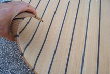 Synthetic Teak Decking / Synthetic Teak Decking is very popular these days to be used in custom Yachts and Boats as it is more beneficial in many aspects.