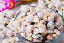 Small sweet & savoury snacks