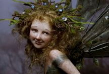 Pixies & Faeries . . . / by Brenda Glasier