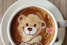 Coffe latte art