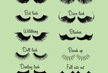 makeup &l ashes