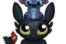 toothless stitch baymax