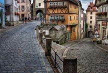 Romatische Strasse - Romantiska vägen - Bayern - Germany