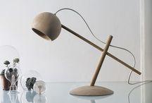 en la lámpara