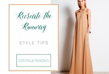 #RecreateTheRunway / How to achieve famous high-fashion runway looks in a budget-friendly way