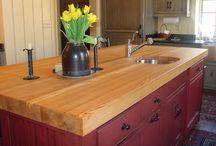 Wood + Sinks