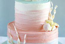 Sea themed cakes