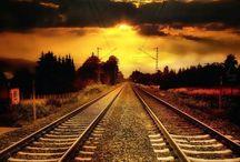 Rails, trains