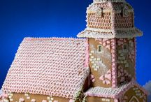 gingerbread creations / churches, houses, entire villages - love those gingerbread creations / by rUth j-MAc
