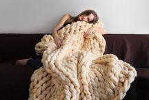 Large blanket.