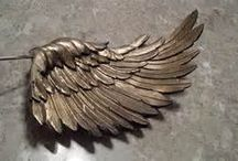 paper mache wings