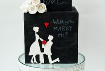 Silhouette Cakes
