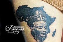 tetování Egypt