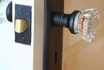 Door knobs & knockers / by LaNette Summers
