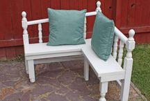 DIY - repurpose or recover furniture