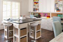 Dream office & craft room