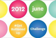 June #GetButtonedUp Challenge / A collection of our DIY projects for the June GetButtonedUp challenge. Post your inspiration & your works in progress!