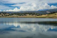 Ridgway reservoir / Local mountain & water scenics