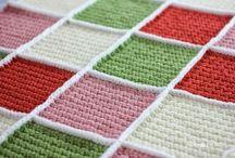 Joining crochet blocks