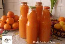 sárgarépás narancslé