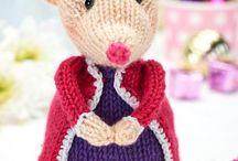 bichinhos de tricot ou crochet