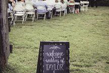 Wedding Decor {Chalkboard}