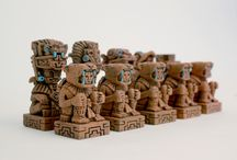 aztec chess set