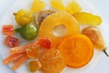Dices de Frutas cristalizadas
