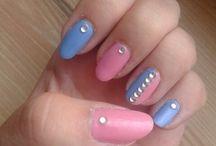 Nails / Nie są to super profesjonalne wykonania ale staram się być co raz lepszą :)