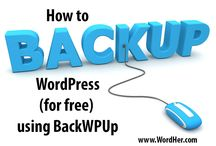 WordPress Backup / Most websites aren't backed up on a regular basis, so if something bad were to happen to them their owners would lose everything and have to start again from scratch. https://www.wpshrug.com/wordpress-backups/