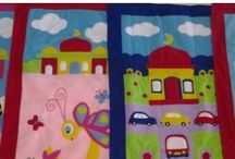 Prayer mats / These colourful handmade prayer mats are coming soon at Ibraheem toy house