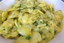 Duitse aardappel salade