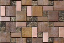 Copper Mosaic Tiles / Copper tiles available through www.exotiles.com.au