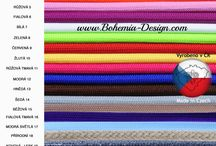 Textilní kabely vyrobené v České republice / Vyrábíme textilní barevné opředené kabely pro Vaše lampičky. Dále vyrábíme baldachýny a patinované objímky. Kompletní sortiment pro Váš design v osvětlení