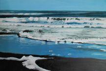 Marine paintings / Original oil paintings of sea and coastal scenes