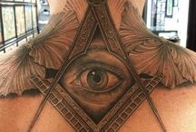 Freemason tattoo