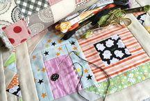 Cozy Cottage Quilt / Lori Holt's Calendar Pattern