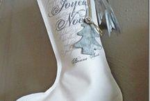 Couture de Noël / Couture facile et rapide,de belles idées pour embellir les intérieurs .