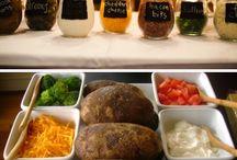 Potato & Salad Bar / by Cyndi Hobgood
