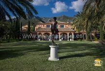 ID: #4828 Rent and Sale Villa Sierra Blanca Marbella Недвижимость в Марбелье / Шикарный дворец расположен в одном из самых престижных районов Марбельи- Сьерра Бланка. Во дворце имеется 9 спален. Разумеется, есть все для VIP отдыха- заново отстроенный СПА с бассейном, тренажерный зал, и многое другое. Высокоприватный участок с великолепным панорамным видом на море. Всего в 5 минутах езды на автомобиле от центра Марбельи, Пуэрто Бануса и самых шикарных песчаных пляжей Марбельи.