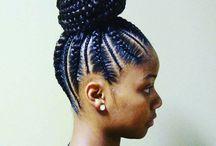 Afro Hair bread