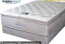 Therapedic Mattress / Are you suffering from serious backproblems? Then change your mattress now. R. K Foam House Pvt. Ltd offer Therapedic Mattress made with different foam materials to enhance your experience, It is specially designed to maximize your comfort and sleep experience