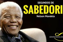 Psicólogo Online: Segundos de Sabedoria - Bravo Não é Quem Não Sente Medo - Nelson Mandela