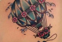 Tattoos: Hot Air Balloons / by Julie Holden