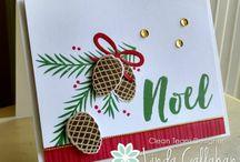 christmas pines stampin up 2016