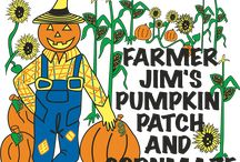 Farmer Jim's Pumpkin Patch and Corn maze / Located in Rolling Fork, MS. Open All October. www.farmerjimspumpkinpatch.com