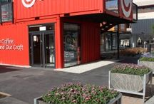Container Buildings / Companies utilizing shipping containers for office/retail space. / by Tocci Building Companies