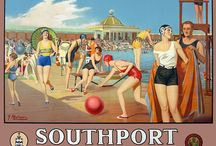 Southport UK / Sunny Southport, especially like the vintage posters