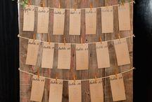 Táblák, feliratok, ültetési rendek